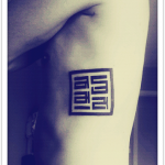 tatouage tibétain style mongol