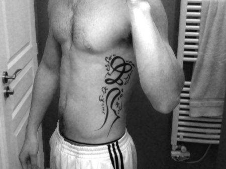 tatouage composé vertical h
